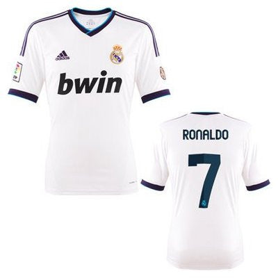 Ronaldo Jersey Real Madrid Youth and Boys Sizes , RONALDO JERSEY REAL MADRID - Adidas, G2G Sport Chicago