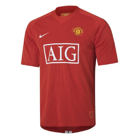 Manchester United Jersey 2007-2008 S, Manchester United Soccer jersey - Nike, G2G Sport Chicago