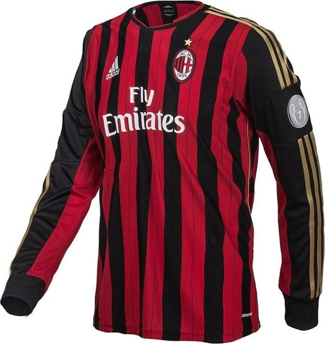 the latest bb332 7ed11 ac milan soccer club jersey marron
