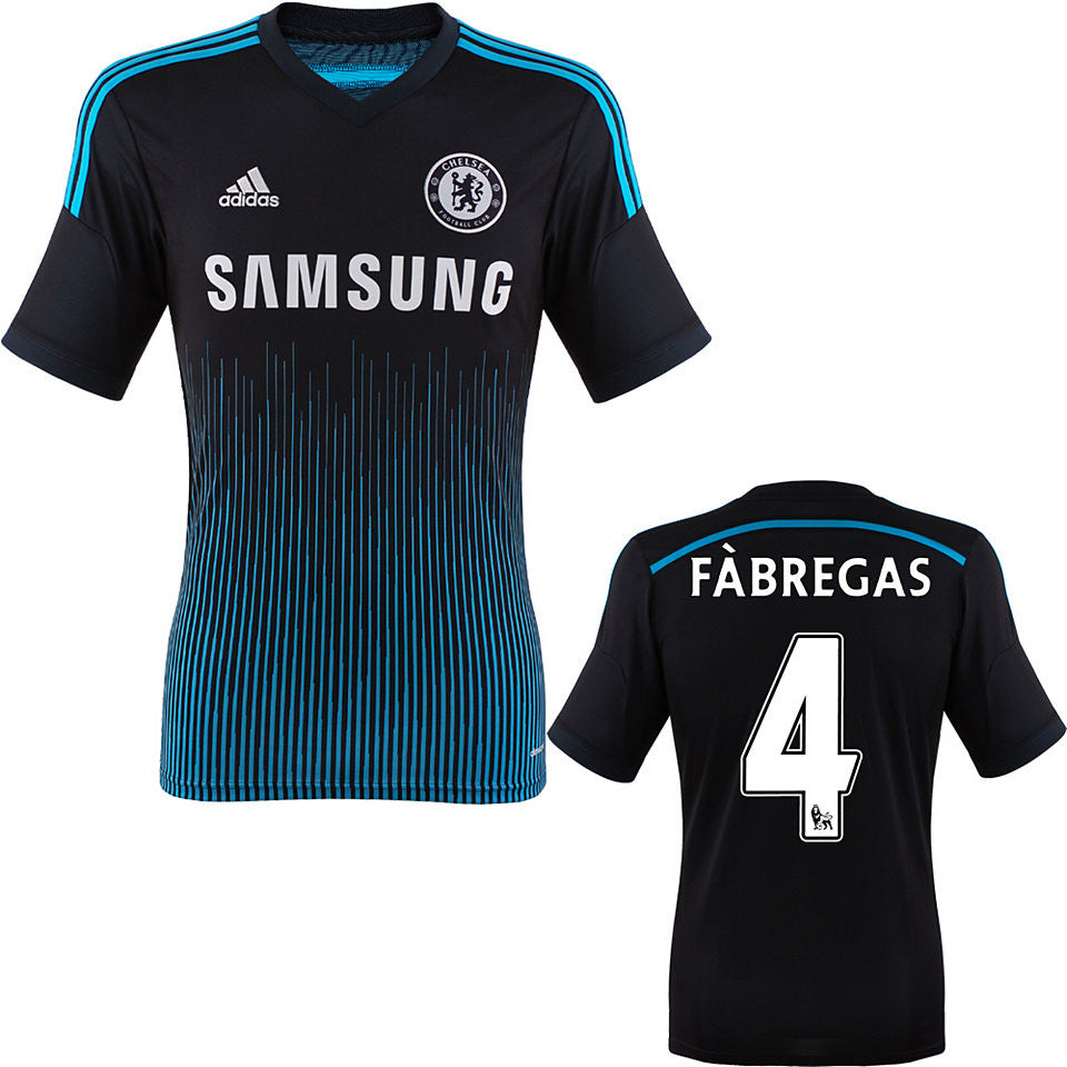 Fabregas Jersey Chelsea 2014 2015 + EPL badges , Chelsea Soccer Jersey - Adidas, G2G Sport Chicago