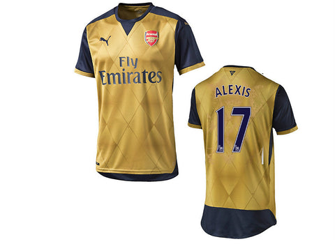 Alexis Jersey Arsenal Away 2015 2016 , alexis jersey arsenal - Puma, G2G Sport Chicago