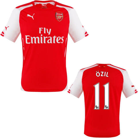 Ozil Jersey Arsenal Home 2014 2015 Select Size / Select Badge Option, Arsenal Soccer jersey - Puma, G2G Sport Chicago