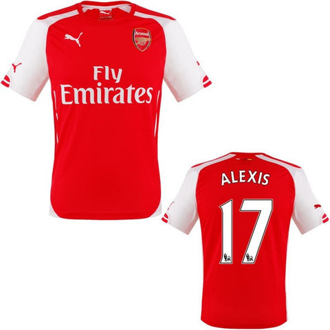 Alexis Jersey Arsenal 2014 2015 S, Arsenal Soccer jersey - Puma, G2G Sport Chicago