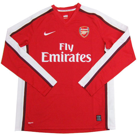 Arsenal Jersey Long Sleeve 2008-2009 , Arsenal Soccer jersey - Nike, G2G Sport Chicago