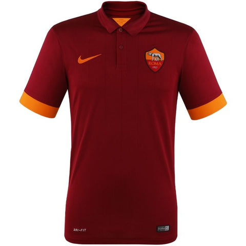 AS Roma Jersey Home 2014 2015 Select Size, AS Roma Home Soccer Jersey 2014 2015 - Nike, G2G Sport Chicago