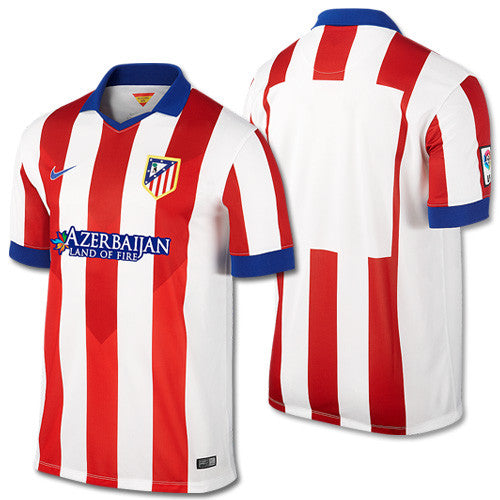 Atletico Madrid Jersey Home 2014 2015 Select Size, Atletico Madrid Jersey 2014 2015 - Nike, G2G Sport Chicago