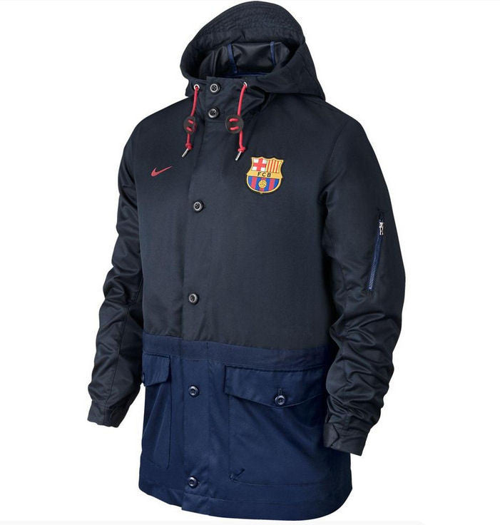 Nike Barcelona Saturday Night Jacket (XXL only) , barcelona saturday night jacket - Nike, G2G Sport Chicago