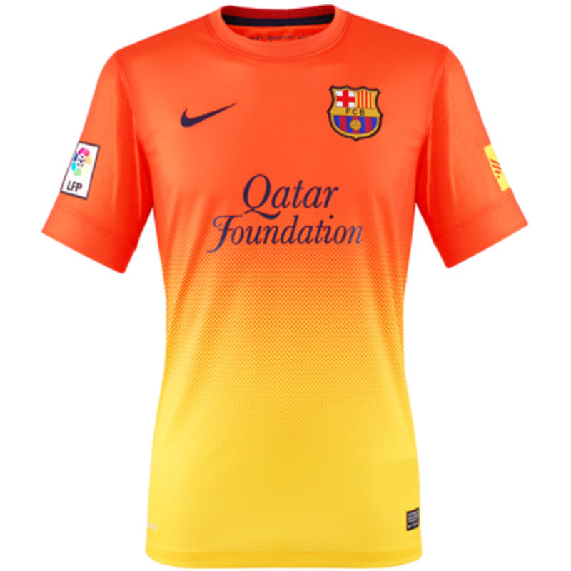 Barcelona Jersey Away 2012-2013 , Barcelona Away Jersey - Nike, G2G Sport Chicago