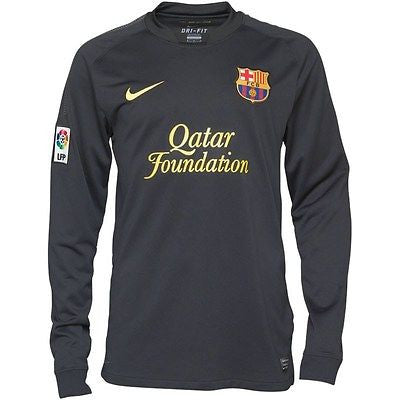 Barcelona Long Sleeve Jersey 2011 2012 (Adult L only) , barcelona jersey long sleeves - Nike, G2G Sport Chicago