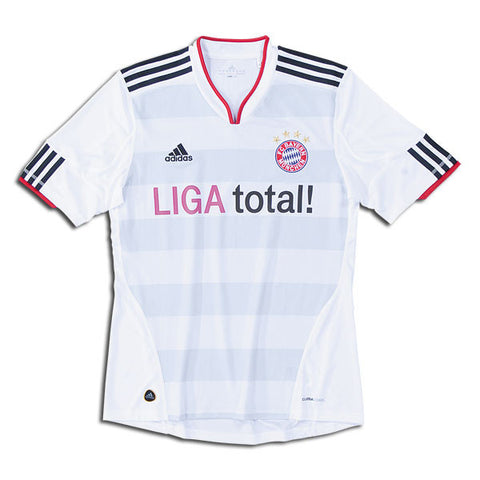 Bayern Munich Jersey Away 2010 2011 S, Bayern Munich Jerseys - Adidas, G2G Sport Chicago