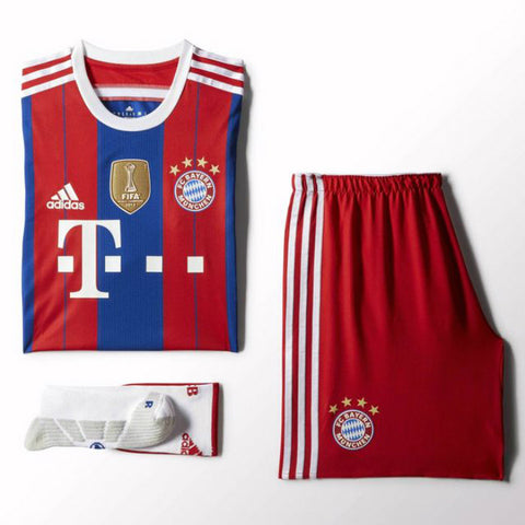 Bayern Munich Adizero Authentic Full Kit 2015 , BAYERN ADIZERO JERSEYSFULL KIT - Adidas, G2G Sport Chicago