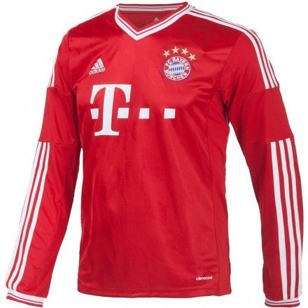 Bayern Munich Jersey Long sleeve 2013 2014 , BAYERN JERSEY LONG SLEEVE - Adidas, G2G Sport Chicago