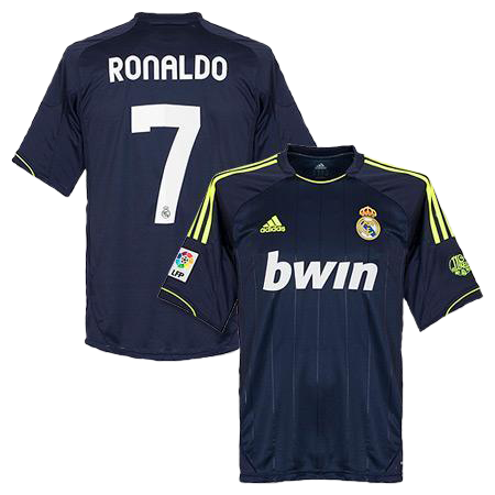 Ronaldo Jersey Real Madrid Away 2012 2013 , ronaldo jersey real madrid - Adidas, G2G Sport Chicago