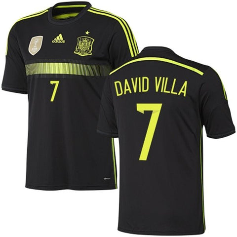 David Villa Jersey Spain World Cup 2014 Select Size, David Villa Soccer Jersey - Adidas, G2G Sport Chicago