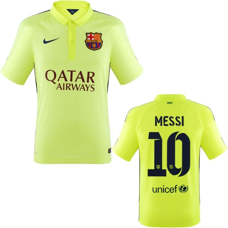 Messi Jersey Barcelona Third 2014 2015 , Messi Barcelona Home Jersey - Nike, G2G Sport Chicago