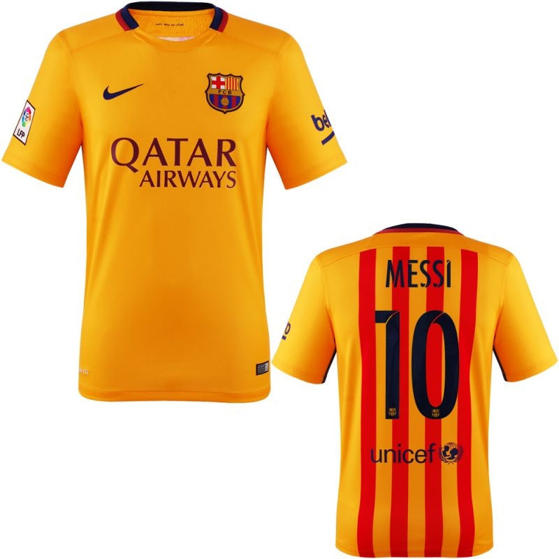 675e5ed6e09 Messi Jersey Barcelona Away 2015 2016 - G2G Sport Chicago