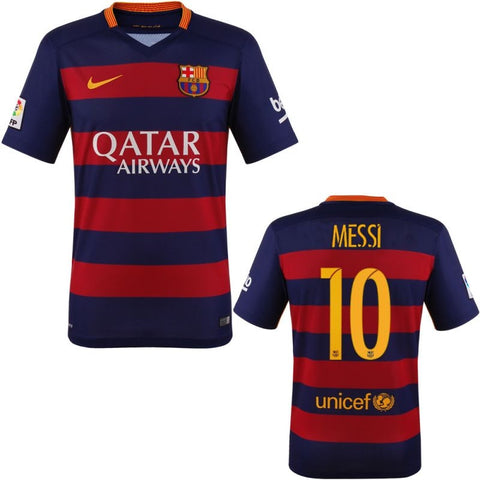 Messi Jersey Barcelona 2015 - 2016 , Messi Barcelona Jersey - Nike, G2G Sport Chicago - 1