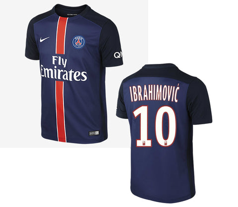 Ibrahimovic Youth and Boys Jersey PSG 2015-16 , ibrahimovic jersey psg youth and boys size - Nike, G2G Sport Chicago