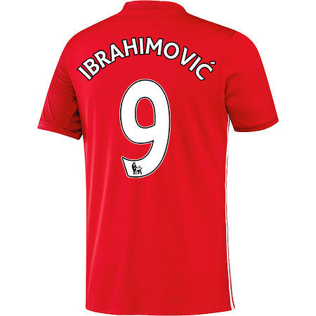 Ibrahimovic Jersey Manchester United , ibrahimovic jersey manchester united youth and boys - Adidas, G2G Sport Chicago - 1