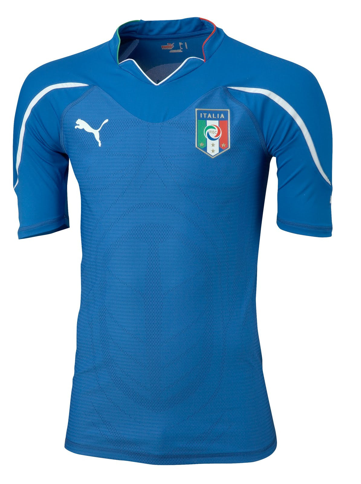 Italy Home Jersey 2010 S, Italy Soccer Jersey - Puma, G2G Sport Chicago