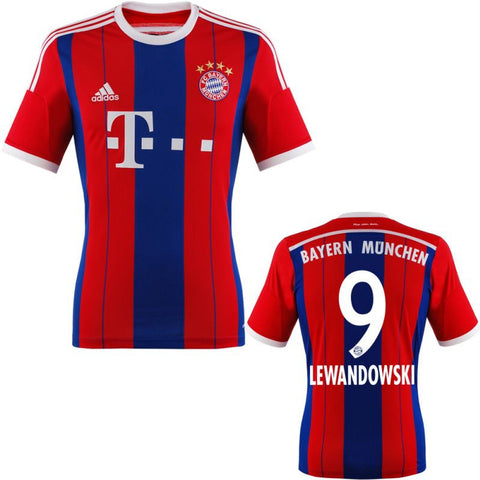 Lewandowski Jersey Bayern Munich Boys and Youth Sizes , lewandowski bayern munich youth jersey - Adidas, G2G Sport Chicago - 2