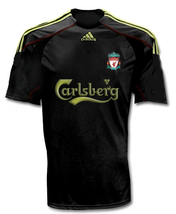 Liverpool Away Jersey 2009-2010 S, Liverpool Soccer Jersey - Adidas, G2G Sport Chicago