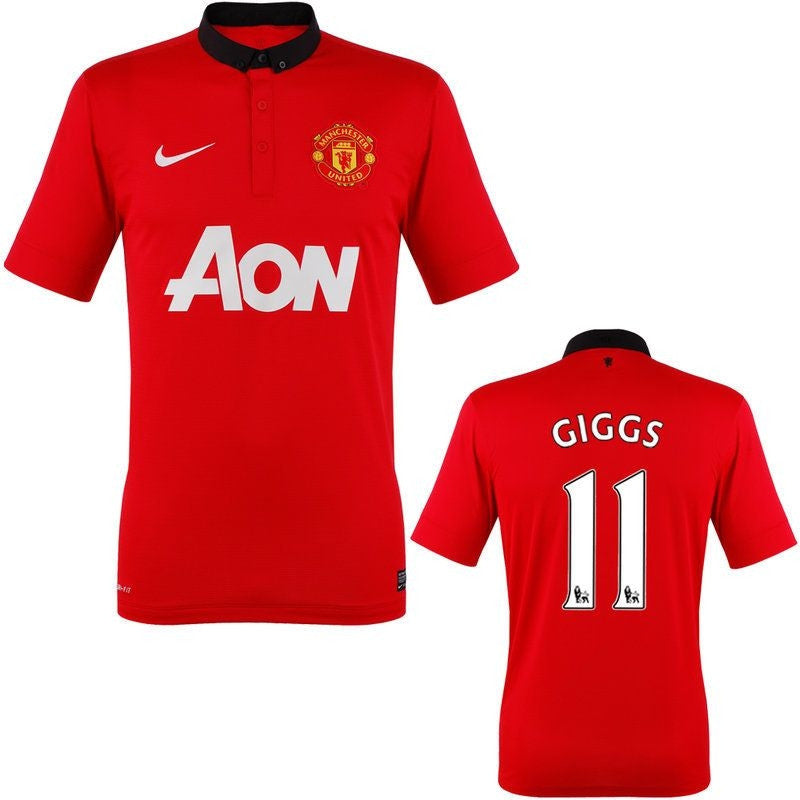 Giggs Jersey Manchester United 2013 2014 S, Manchester United Soccer jersey - Nike, G2G Sport Chicago