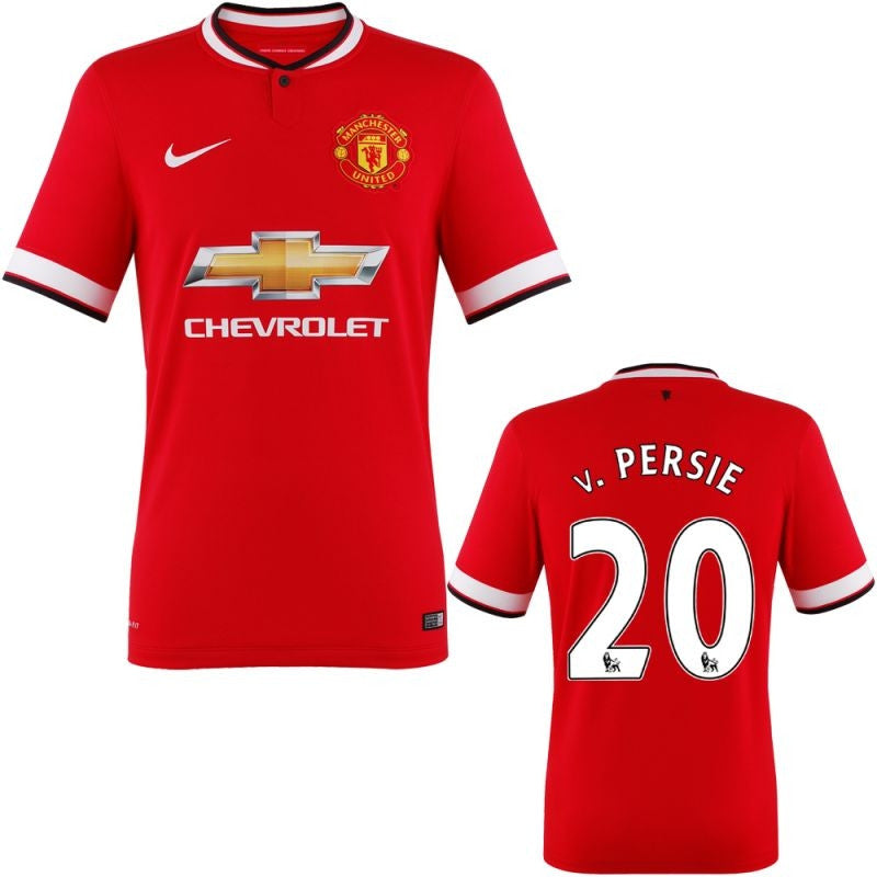 Van Persie Jersey Manchester United 2014 2015 M, Manchester United Soccer jersey - Nike, G2G Sport Chicago