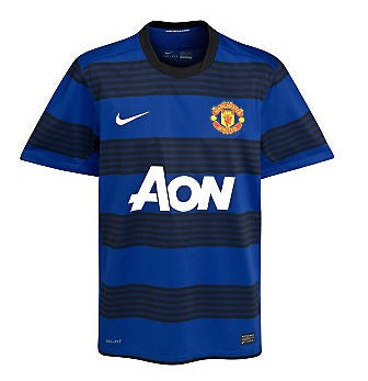 Manchester United Jersey Away 2011-2012 S, Manchester United Soccer jersey - Nike, G2G Sport Chicago