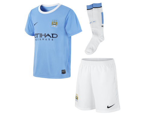Manchester City Minikit for Little Boys , manchester city little boys uniform - Nike, G2G Sport Chicago