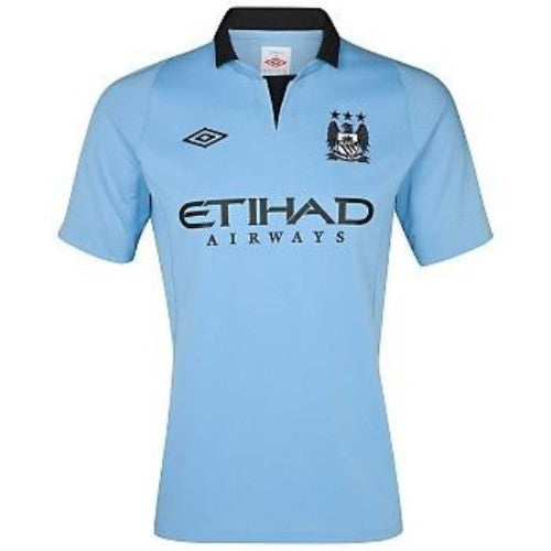 Manchester City Jersey 2012-2013 Select Size, Manchester City Jersey - Umbro, G2G Sport Chicago