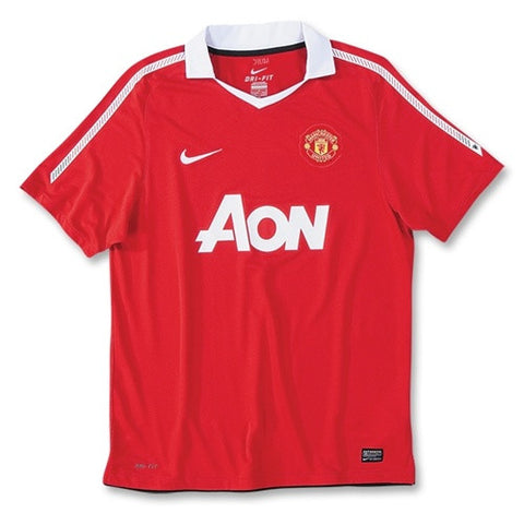 Manchester United Jersey Youth/Boys Home 2010-2011 S, Manchester United Soccer jersey - Nike, G2G Sport Chicago