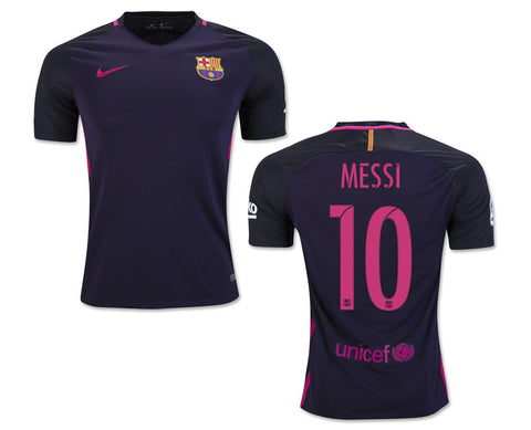 Messi Jersey Barcelona Away 2016 2017