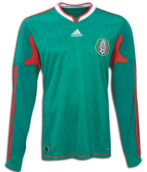 Mexico Jersey Long Sleeves 2010 S, Mexico Soccer Jersey - Adidas, G2G Sport Chicago