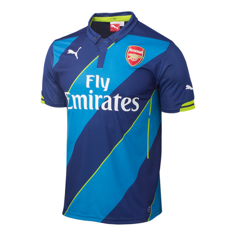 Arsenal Jersey 3rd 2014 2015 Select Size, Arsenal Soccer jersey - Puma, G2G Sport Chicago