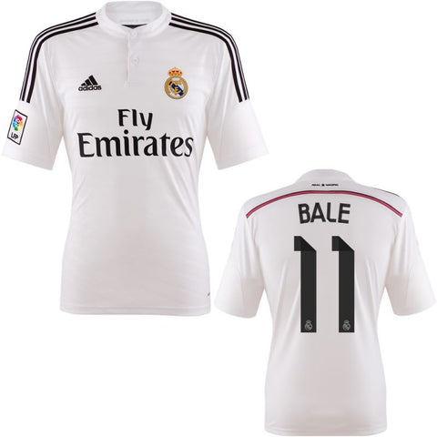 Bale Jersey Real Madrid Home 2014 2015 , Ronaldo Real Madrid Jersey - Adidas, G2G Sport Chicago