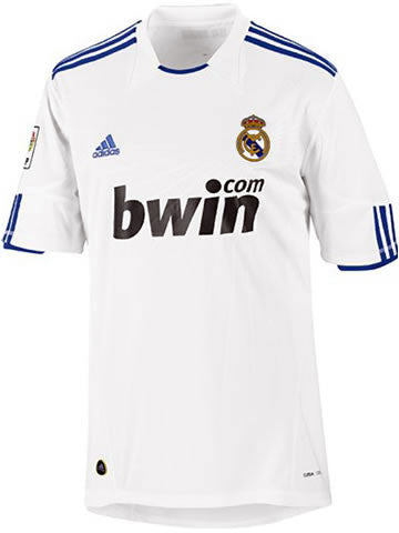 Real Madrid Jersey 2010-2011 Youth XL, Real Madrid soccer jersey - Adidas, G2G Sport Chicago