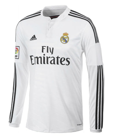 Real Madrid Long Sleeve Jersey 2014-2015 , Real Madrid soccer jersey - Adidas, G2G Sport Chicago