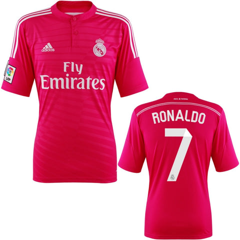 Ronaldo Jersey Real Madrid Away 2014 2015 S, Ronaldo Jerseys - Adidas, G2G Sport Chicago