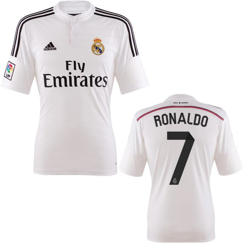 Ronaldo Youth/Boys Soccer Jersey Real Madrid  2014 2015 Select Size, Ronaldo Real Madrid Jersey - Adidas, G2G Sport Chicago
