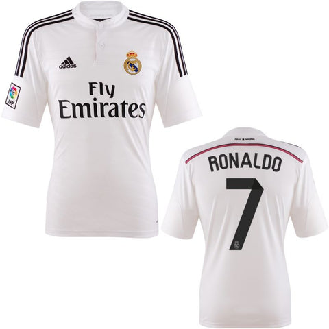 Ronaldo Jersey Real Madrid  2014 2015 M, Ronaldo Real Madrid Jersey - Adidas, G2G Sport Chicago