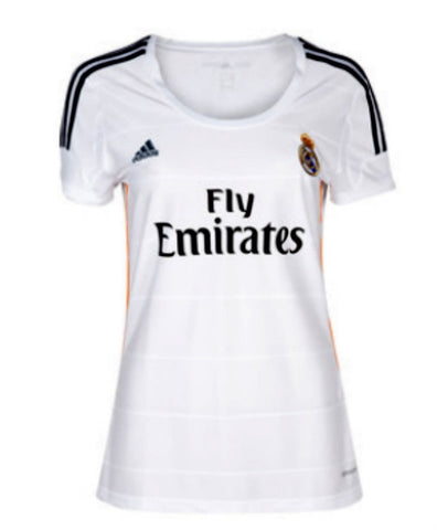 Real Madrid Jersey Women 2013 2014 Select Size, Real Madrid soccer jersey - Adidas, G2G Sport Chicago
