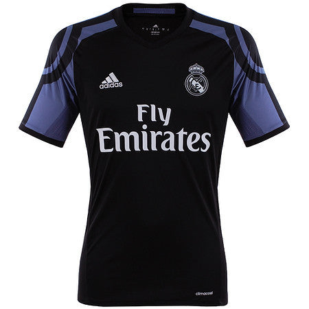 Real Madrid third jersey 2016 2017 with official prints for Ronaldo, James and Bale , Real Madrid jersey - Adidas, G2G Sport Chicago