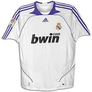 Real Madrid Jersey 2007-2008 S, Real Madrid soccer jersey - Adidas, G2G Sport Chicago