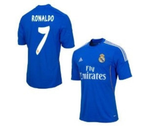 Ronaldo Jersey Real Madrid 2013 2014 Boys_M, Ronaldo Real Madrid Jersey - Adidas, G2G Sport Chicago