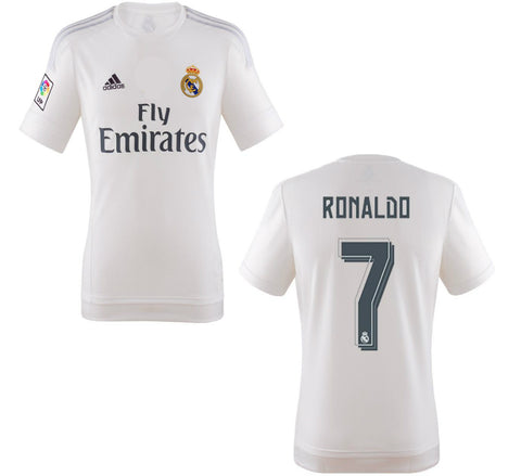 Ronaldo Jersey Real Madrid Home 2015 2016 , ronaldo jersey real madrid - Adidas, G2G Sport Chicago