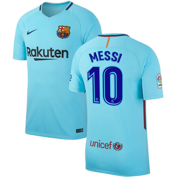 1adaef17a Messi Jersey Barcelona Away 2017 2018 - G2G Sport Chicago