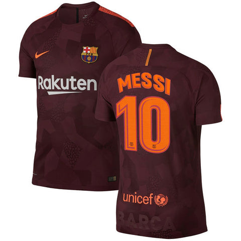 messi jersey Barcelona third 2017 2018