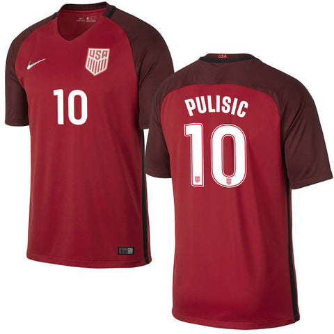 pulisic jersey use third red 2017