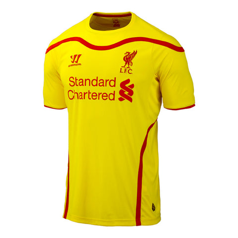 Liverpool Jersey 2014 2015 , Liverpool Away Jersey - Warrior, G2G Sport Chicago